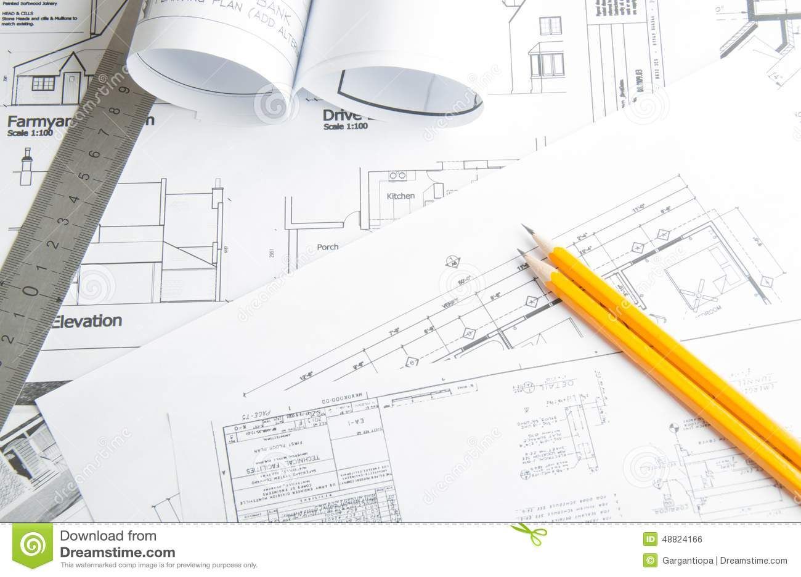 Чертежи планирования конструкции