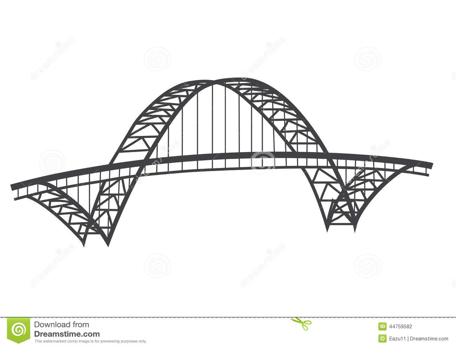 Чертеж моста Fremont
