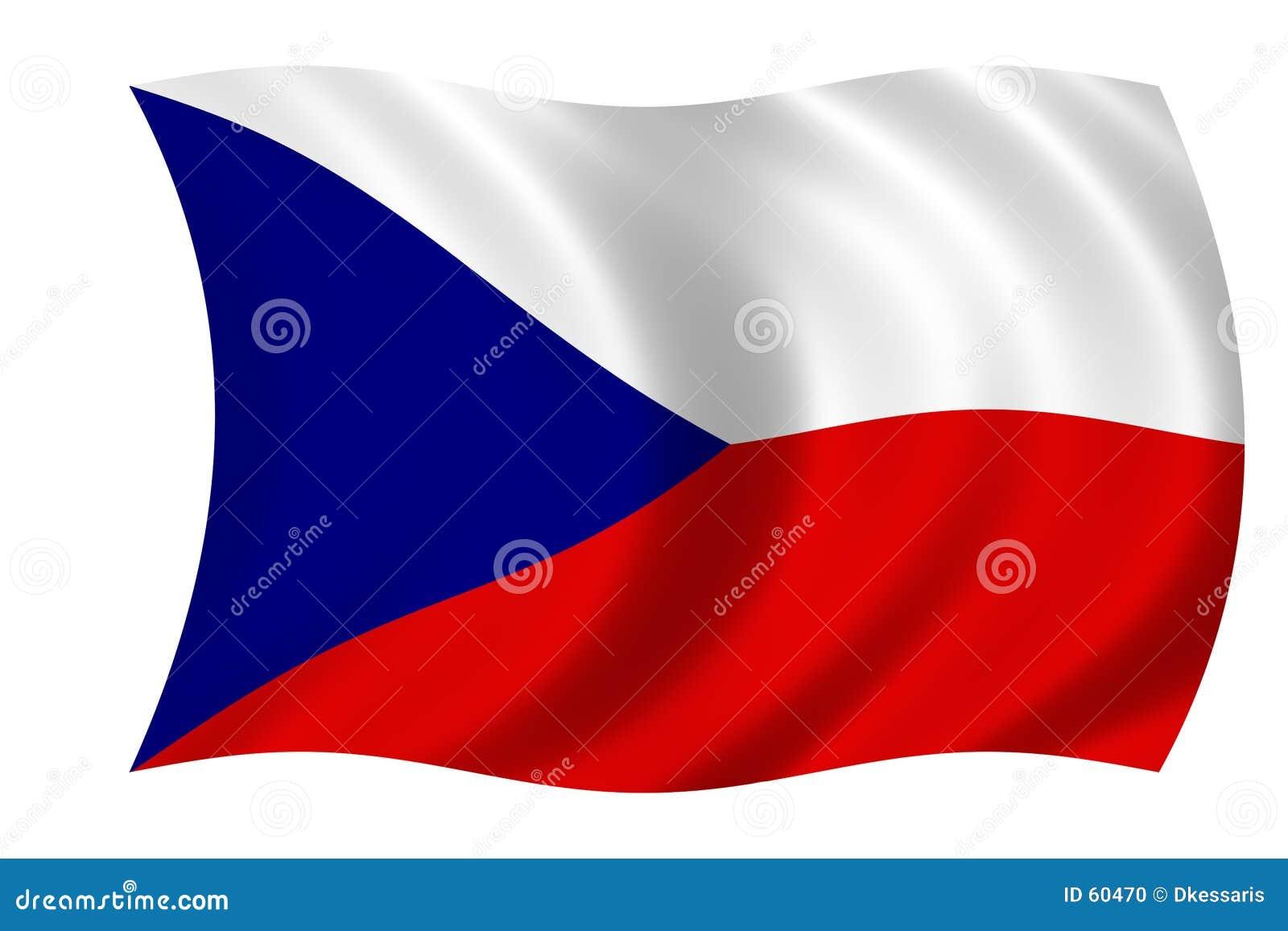 чехословакский флаг