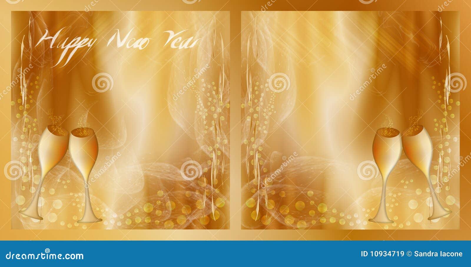 чешет Новый Год