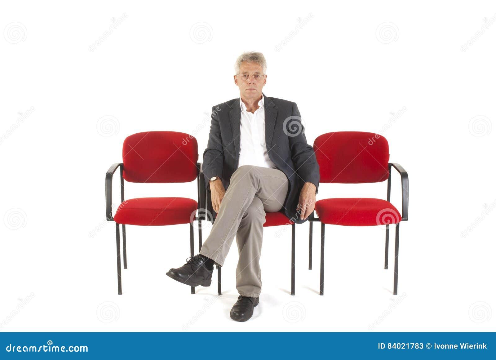 Человек в зале ожидания