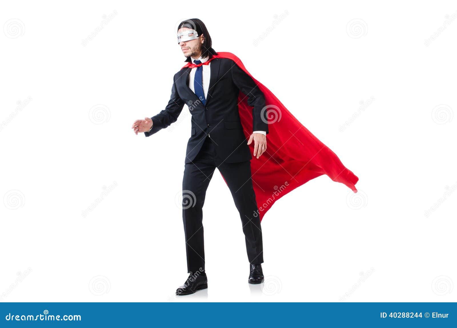 Человек в красной крышке