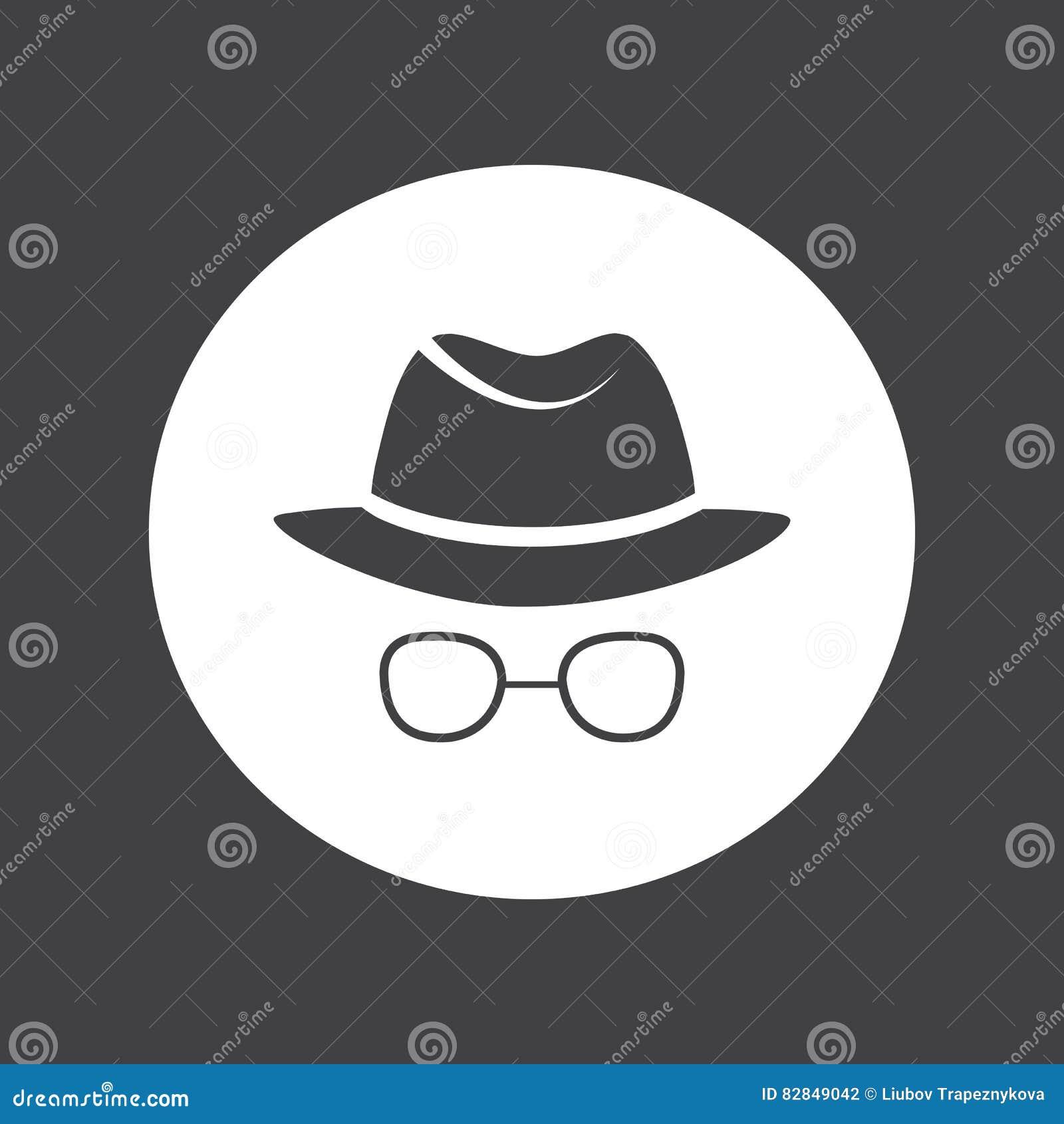 человек в шляпе и стеклах сыщик шпионка