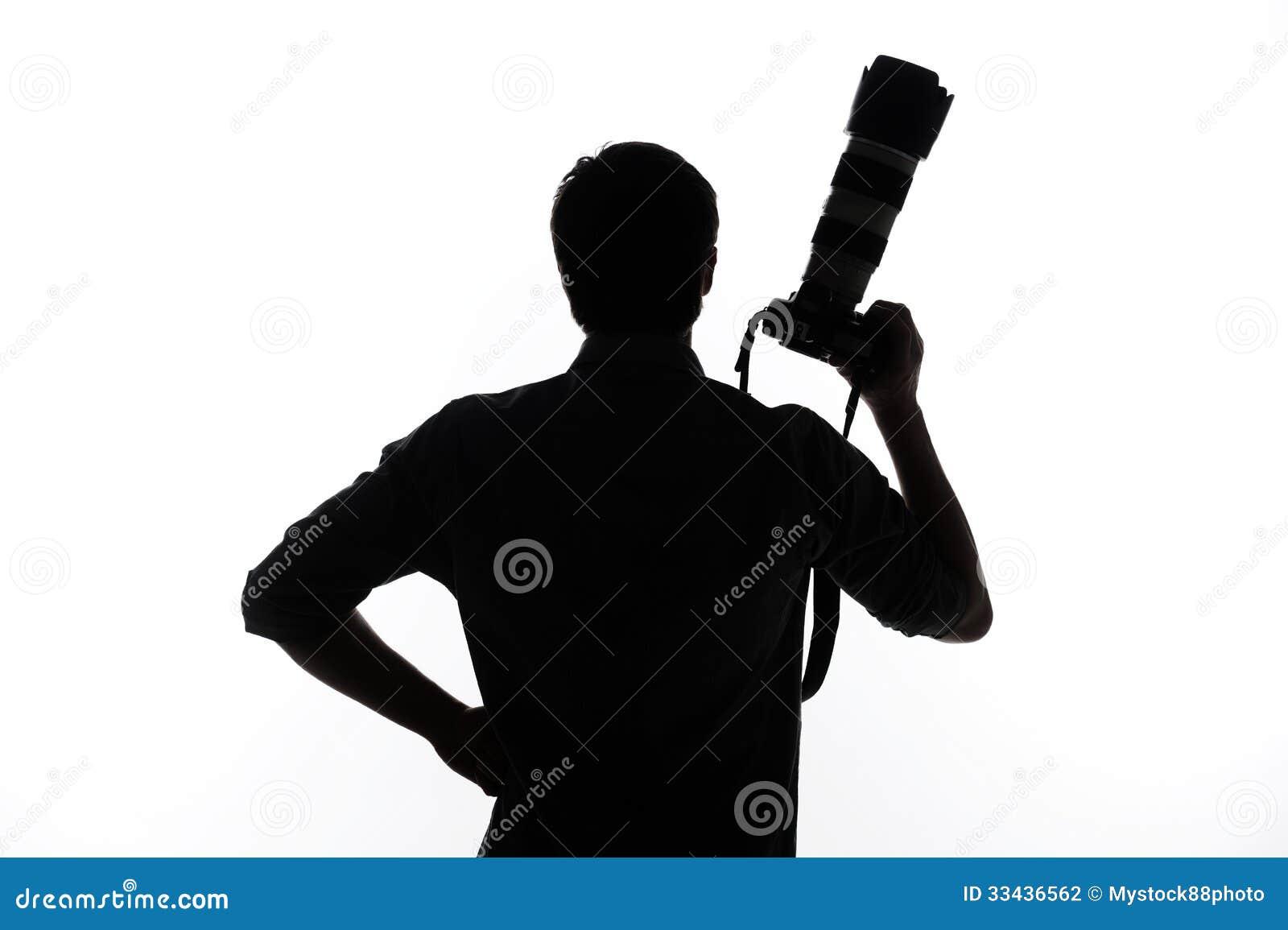 модели картинка мужчина с фотоаппаратом вектор борту