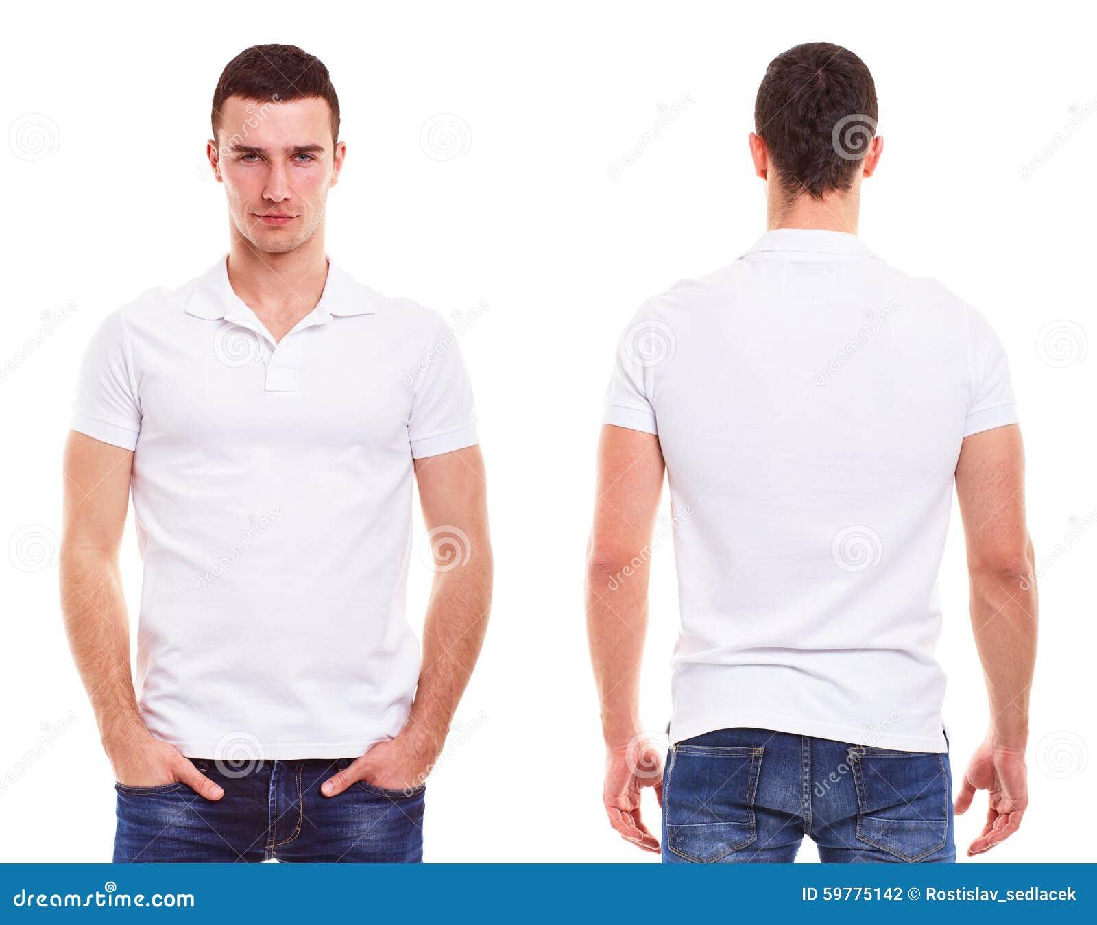 Человек с рубашкой поло