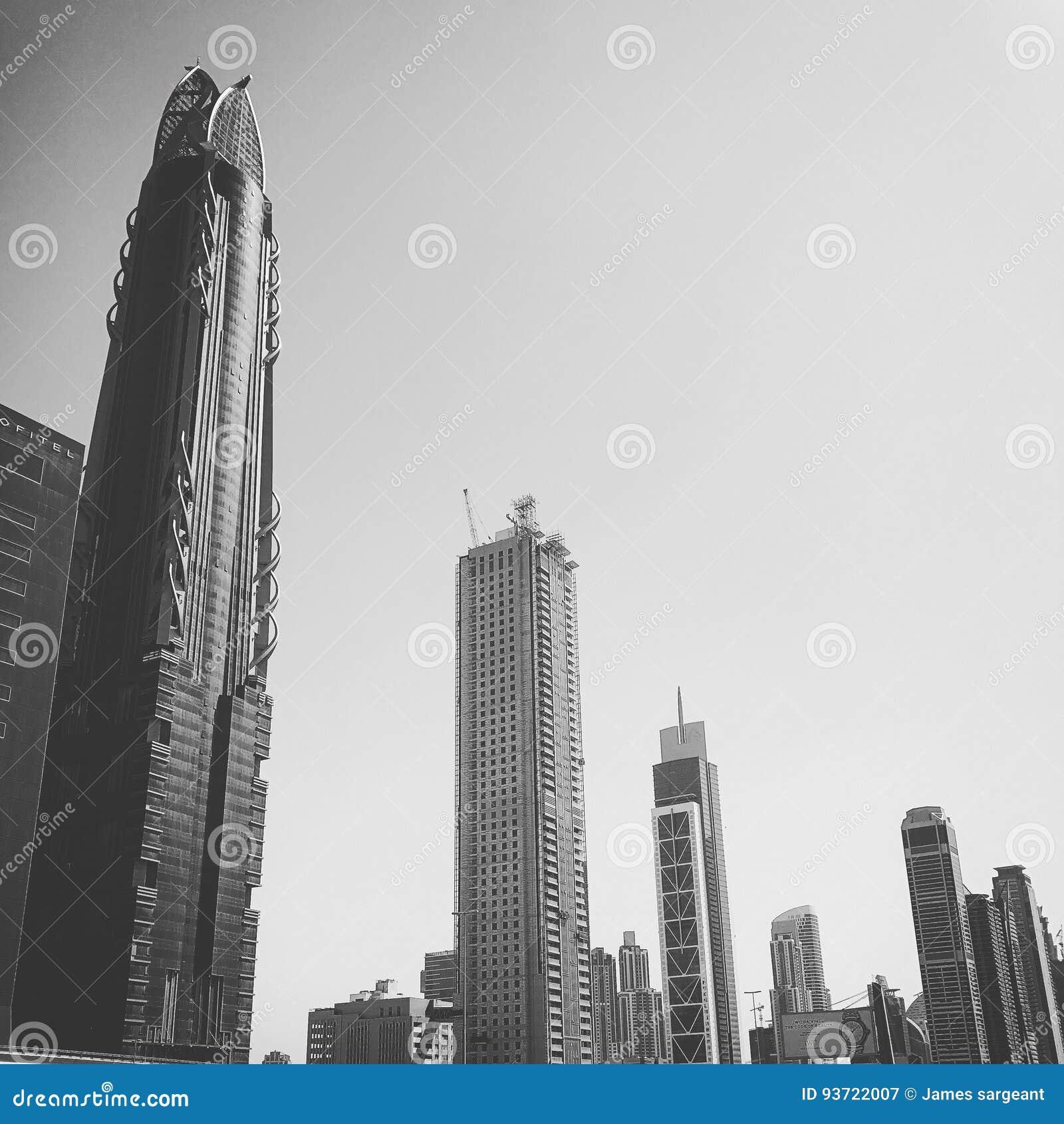 Шаберы неба Дубай центральные ОАЭ