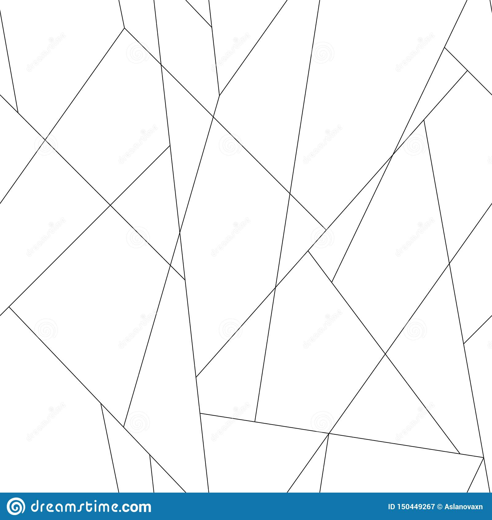 Thin lines pattern. Seamless vector trendy stylish thin black strokes background