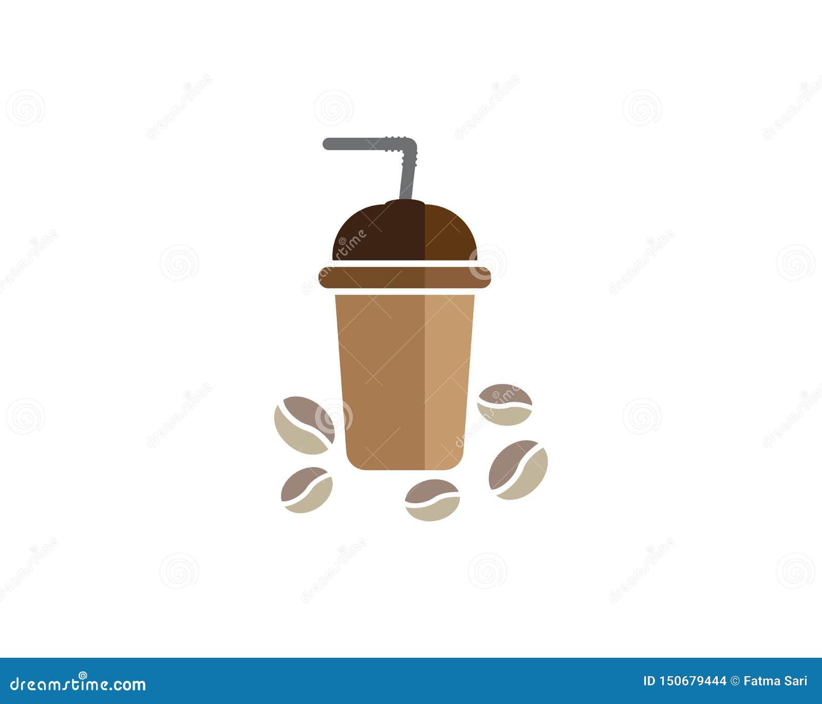 Шаблон логотипа кофейной чашки