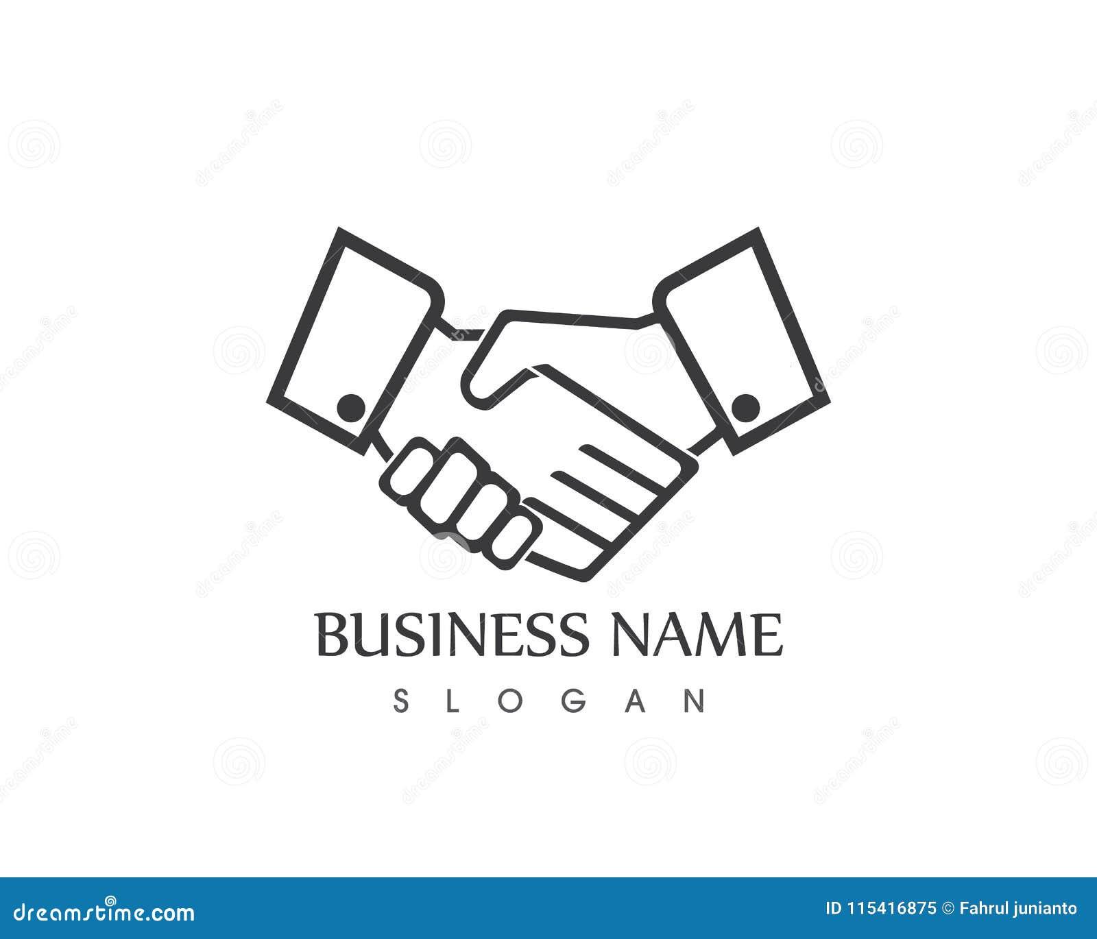 Шаблон логотипа руки большого пальца руки