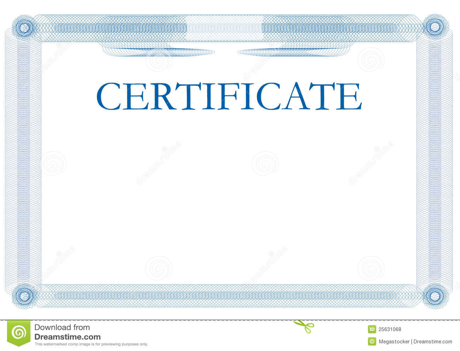 Шаблон сертификата на английском скачать