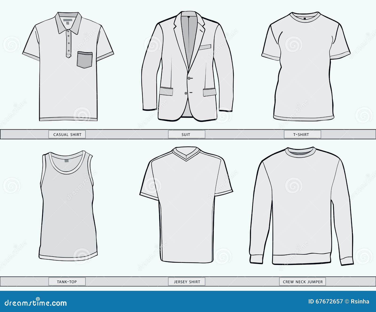 Скачать шаблоны одежды
