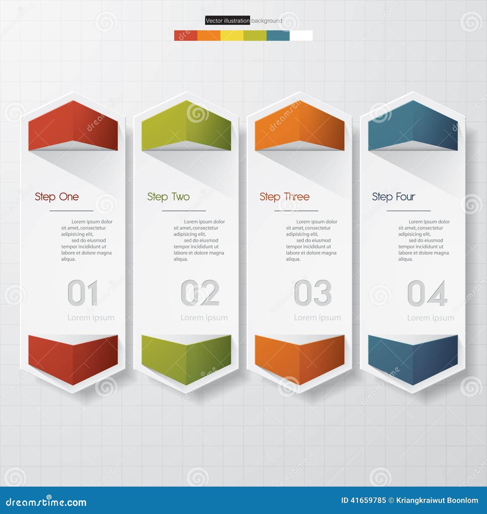 Шаблон знамен номера дизайна чистый вектор
