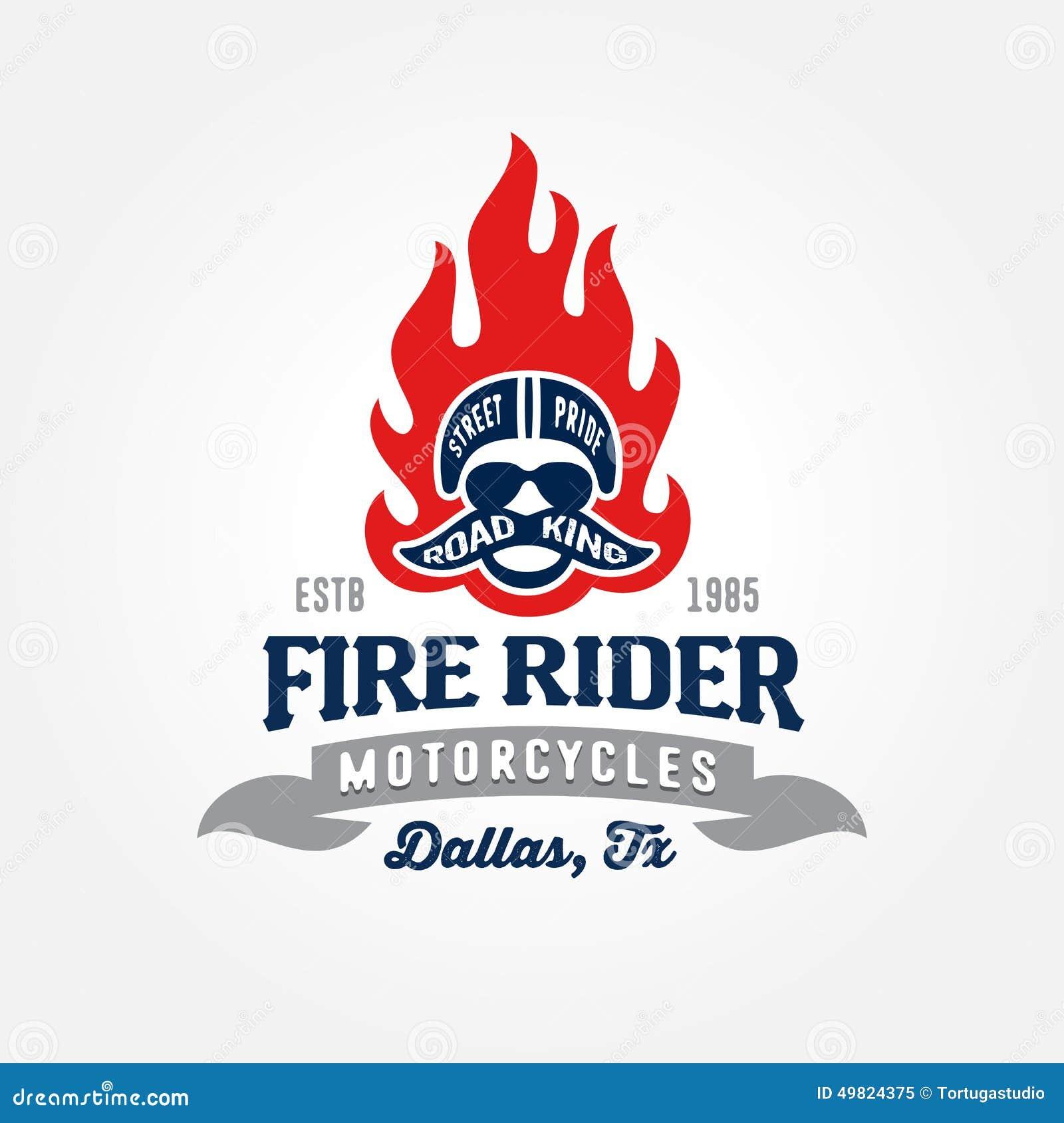 Шаблон логотипа магазина мотоцикла