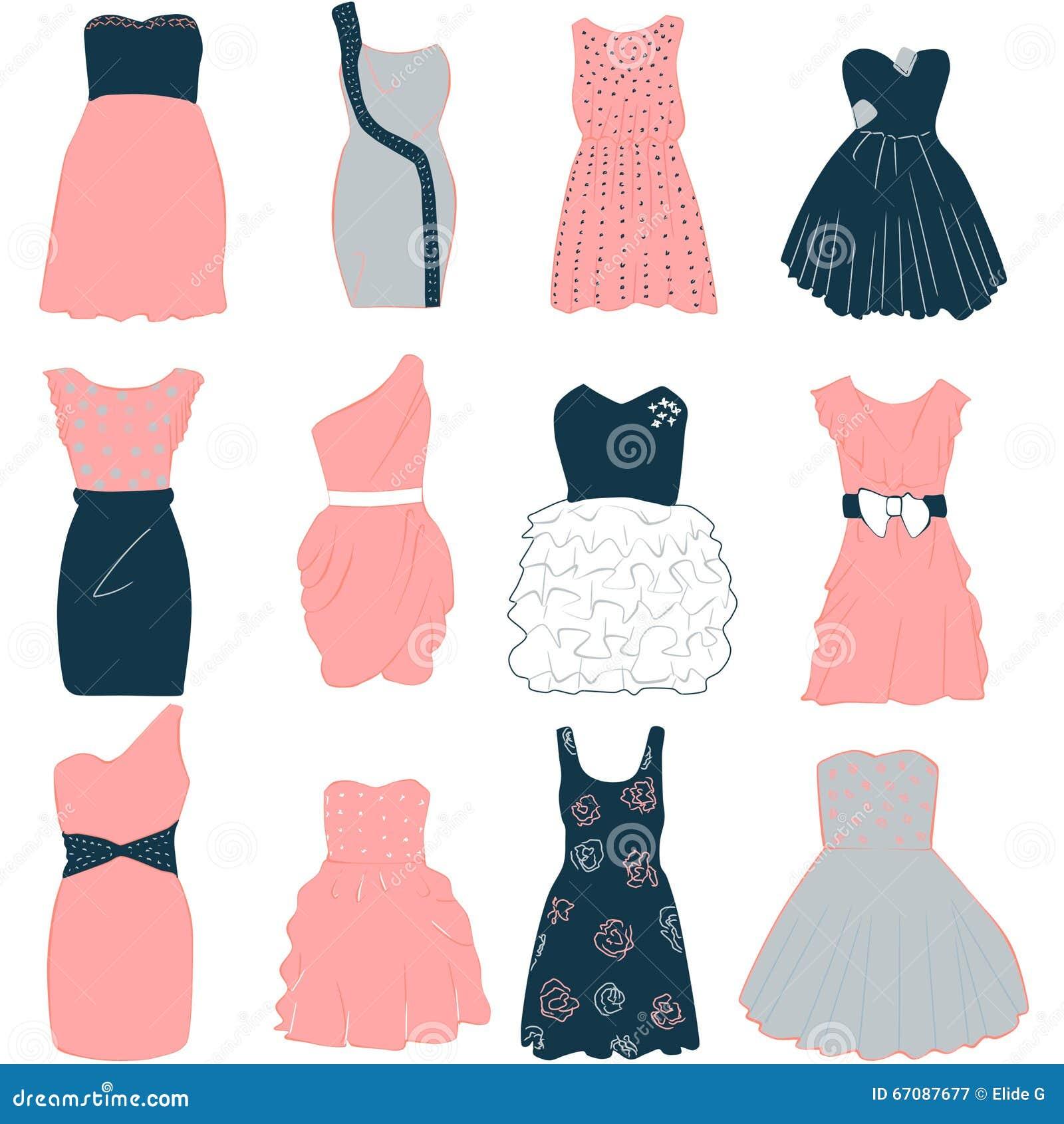 Шаблон платья фото