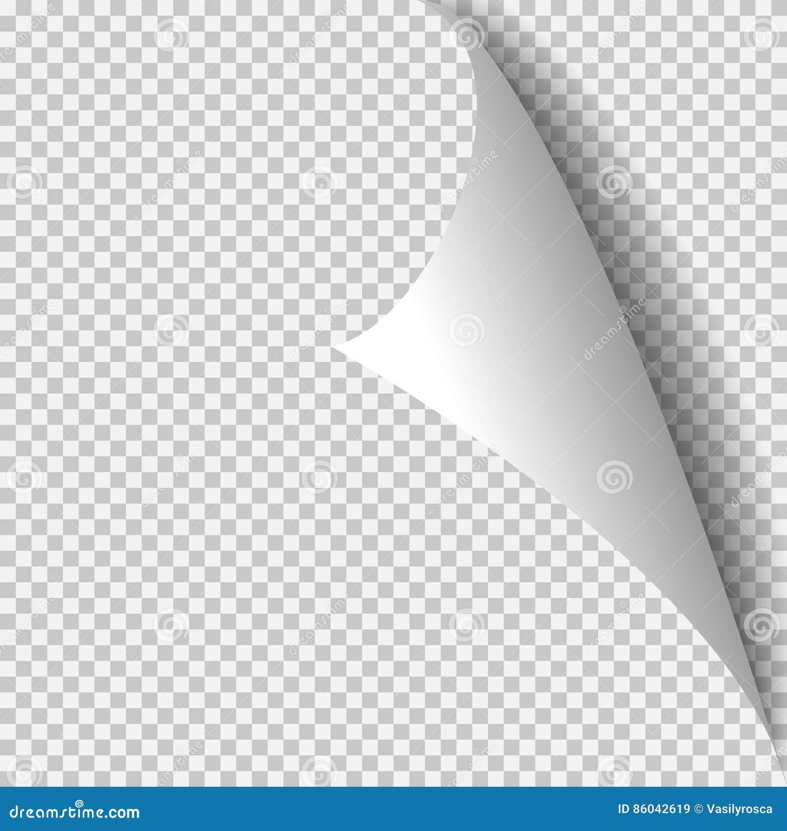 Шаблон скручиваемости угловой бумажный Прозрачная решетка Пустая страница предпосылки