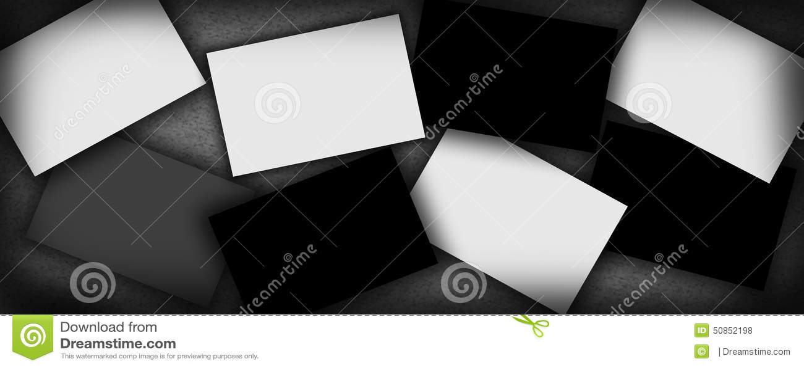 Шаблон для ваших изображений, портфолио картин