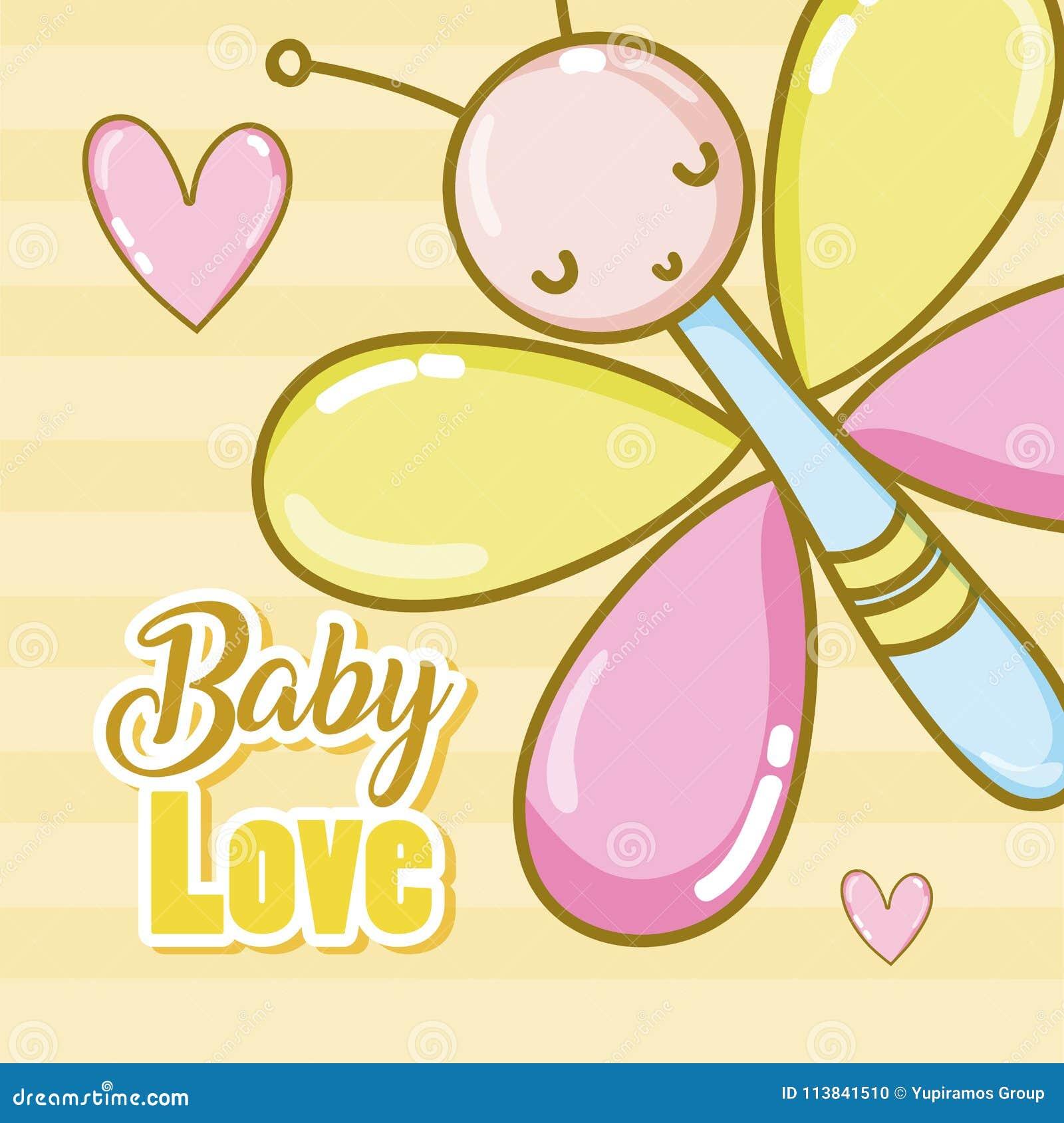 Шаржи карточки влюбленности младенца