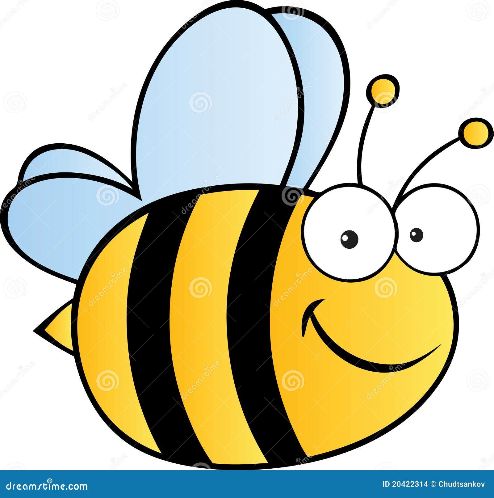 шарж пчелы милый