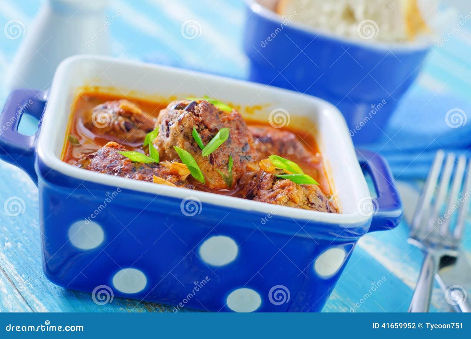 Шарики мяса