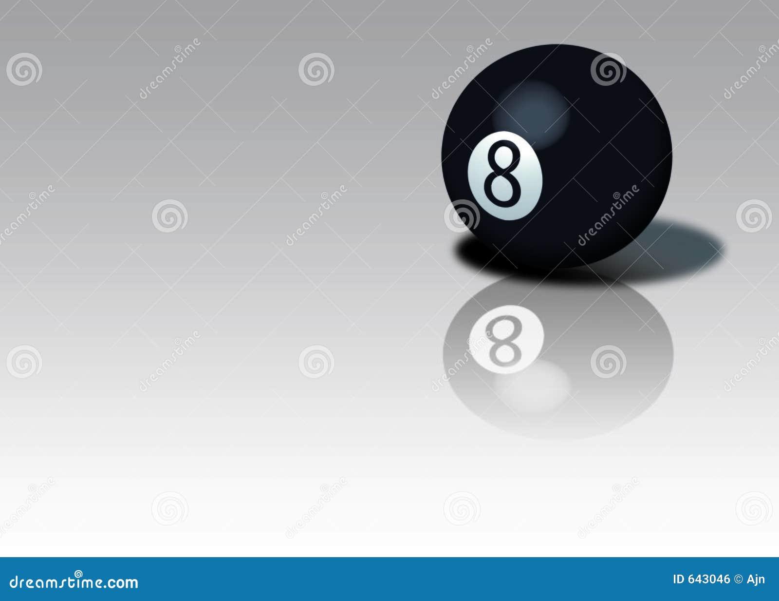 Download шарик 8 иллюстрация штока. иллюстрации насчитывающей спорт - 643046