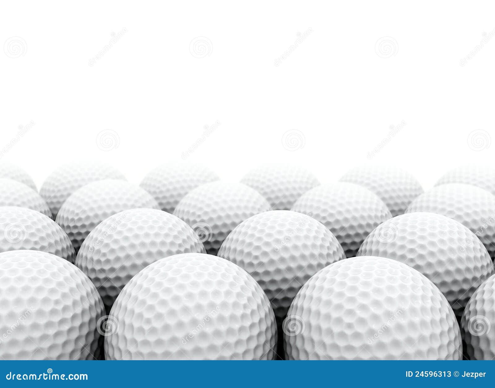 Шары для игры в гольф