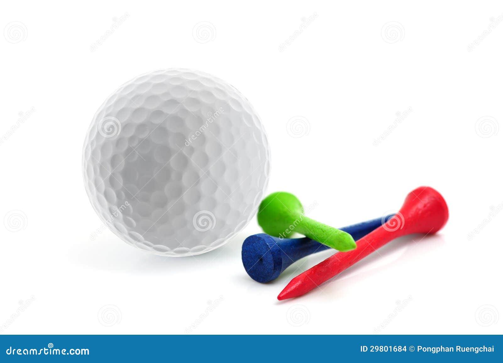 Шар для игры в гольф и тройники