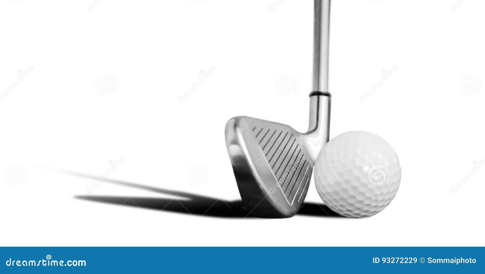 Шар для игры в гольф и утюг