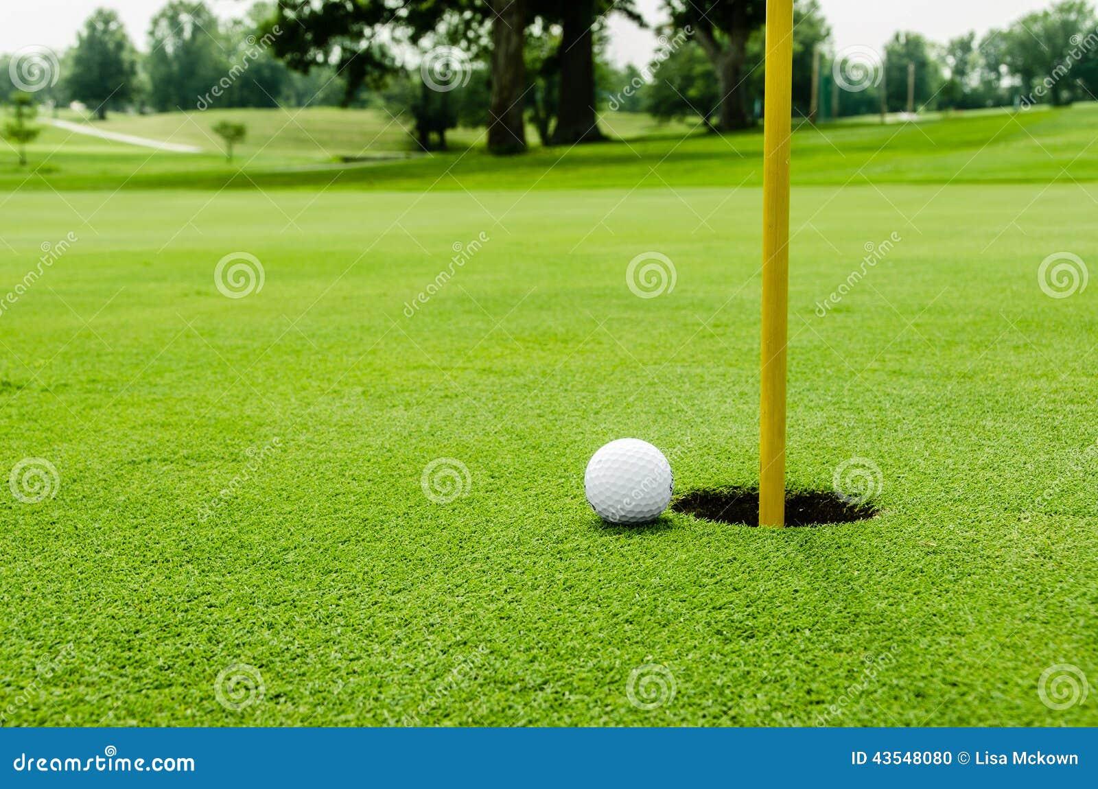 Шар для игры в гольф на lipon зеленый цвет