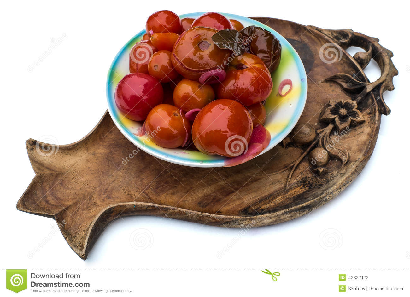 Шар marinated томатов
