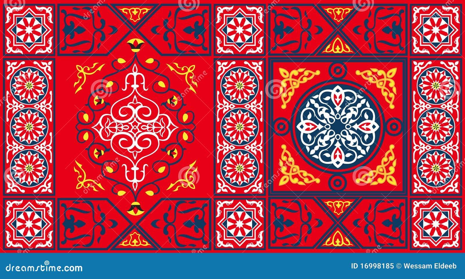 шатер красного цвета картины ткани 2 египтянин