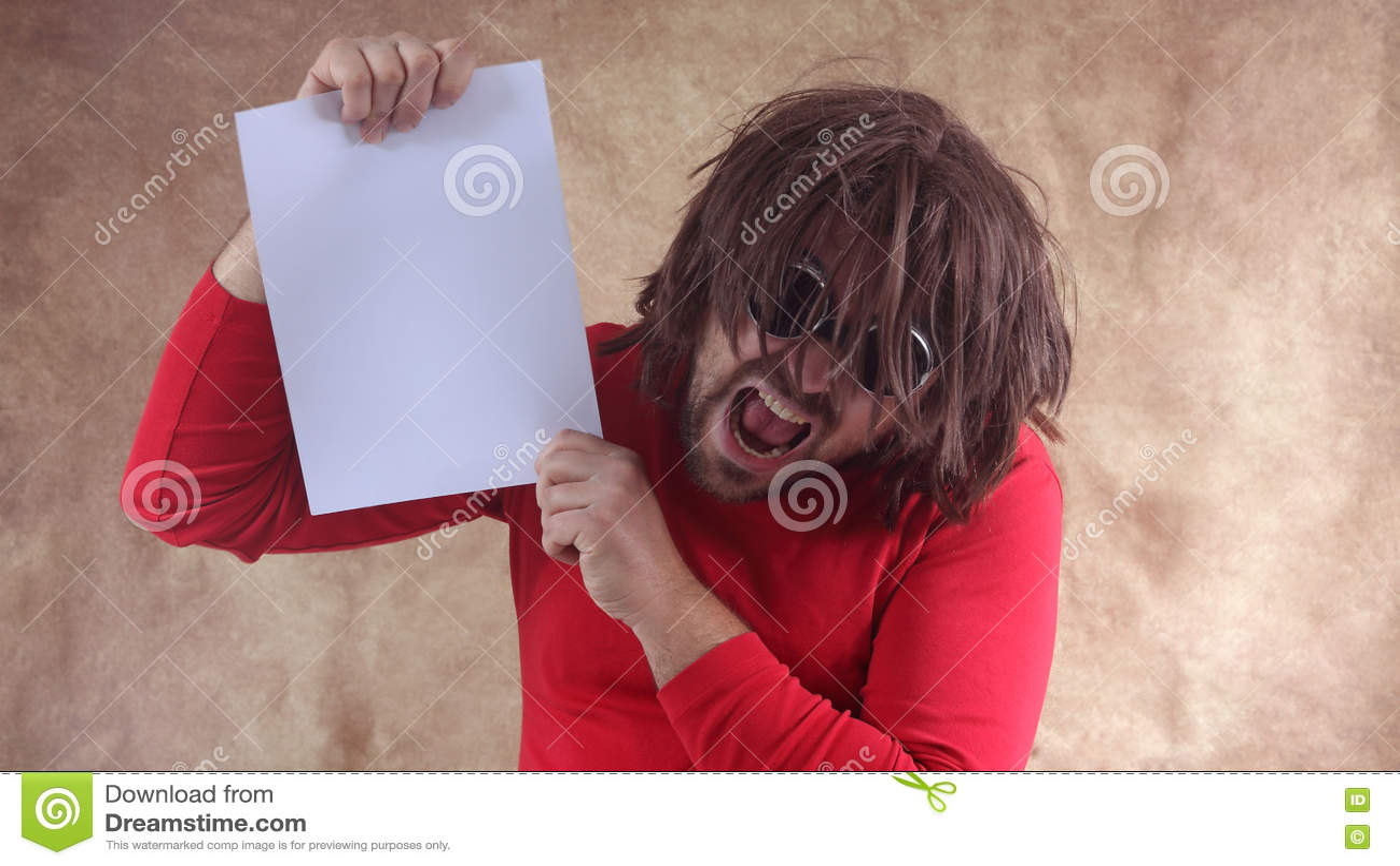 Download шальной человек стоковое фото. изображение насчитывающей невзгоды - 72292976