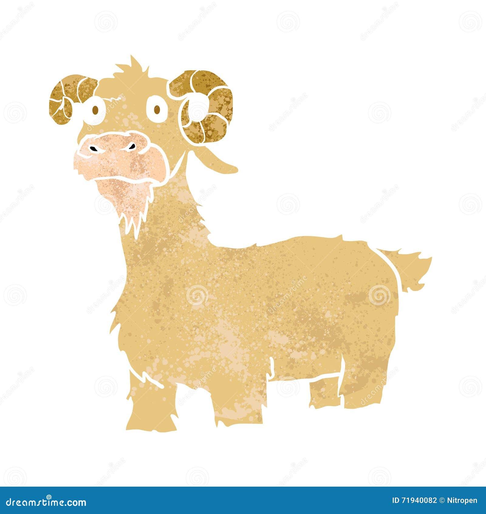 Шальной шарж козы