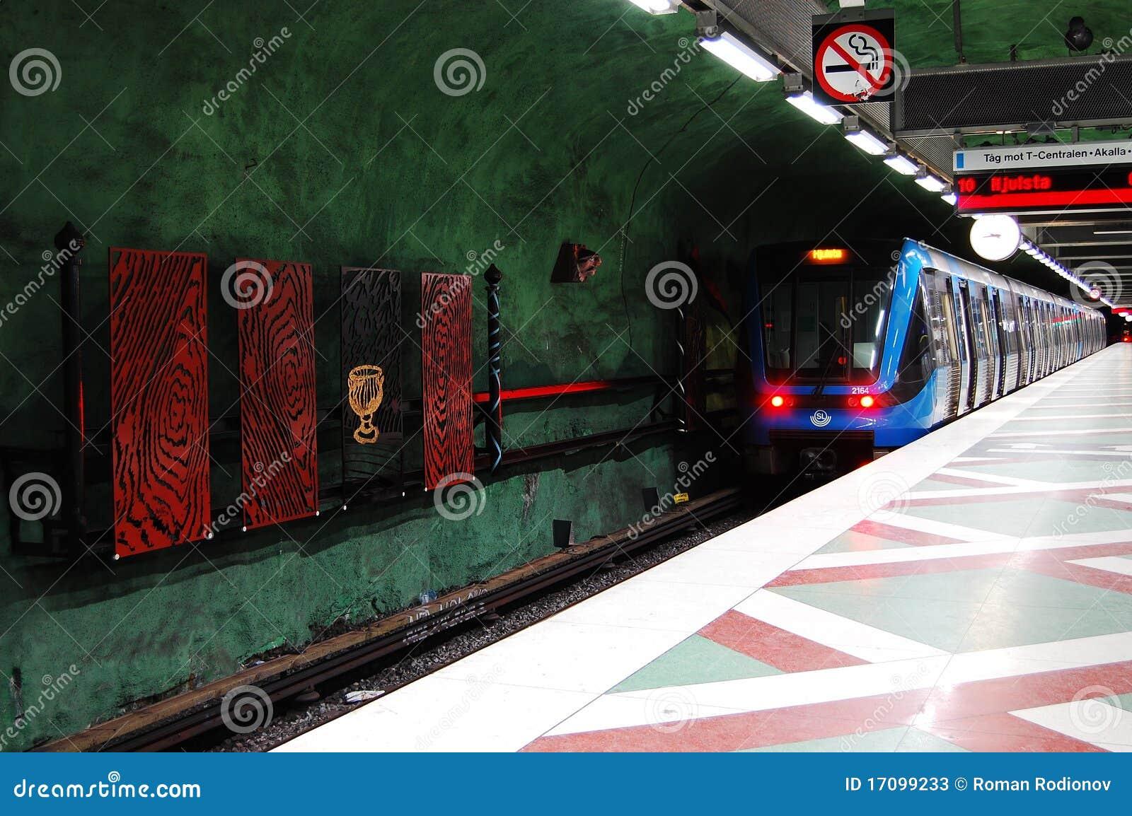 шведский язык метро