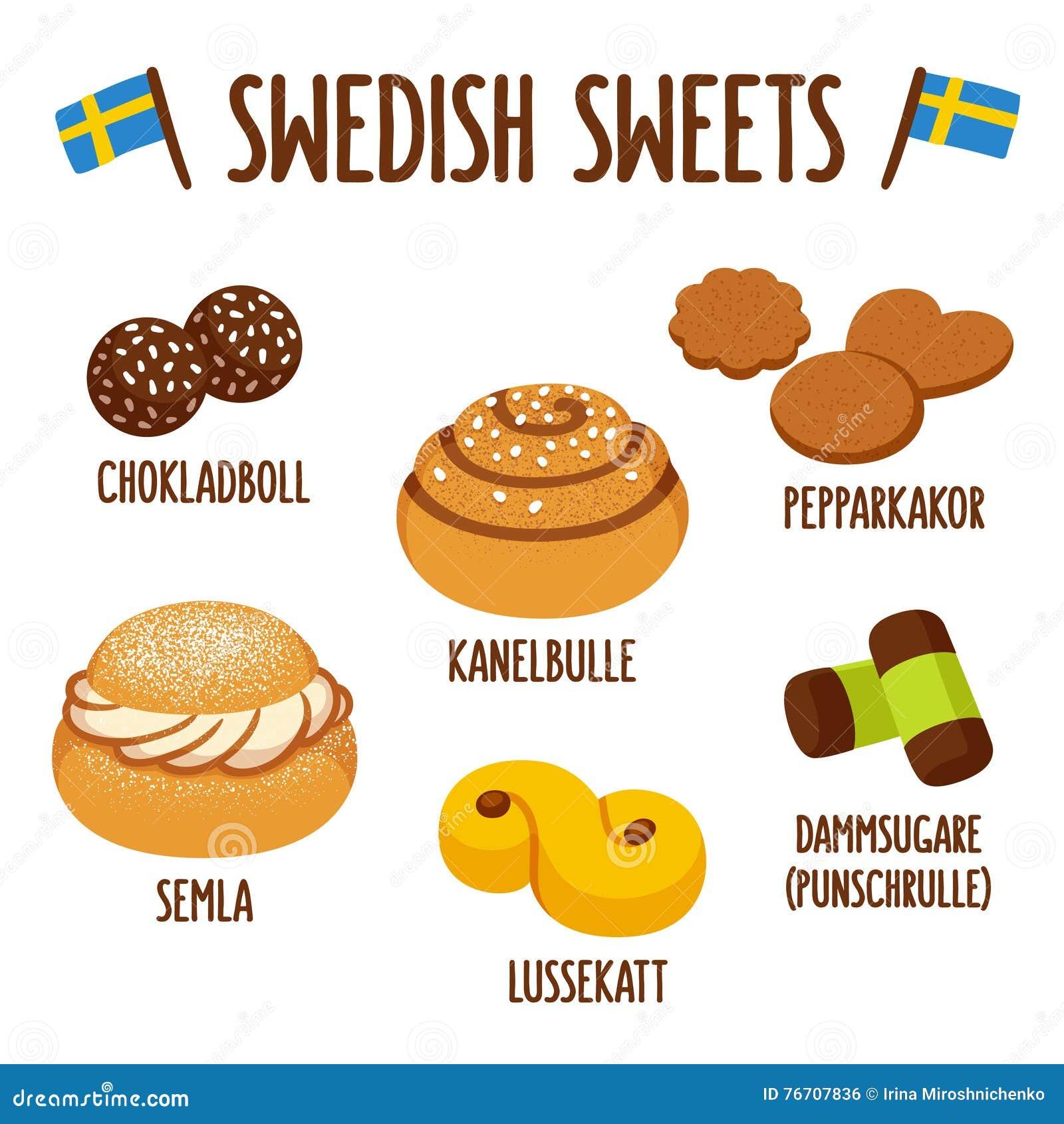 Шведский комплект помадки