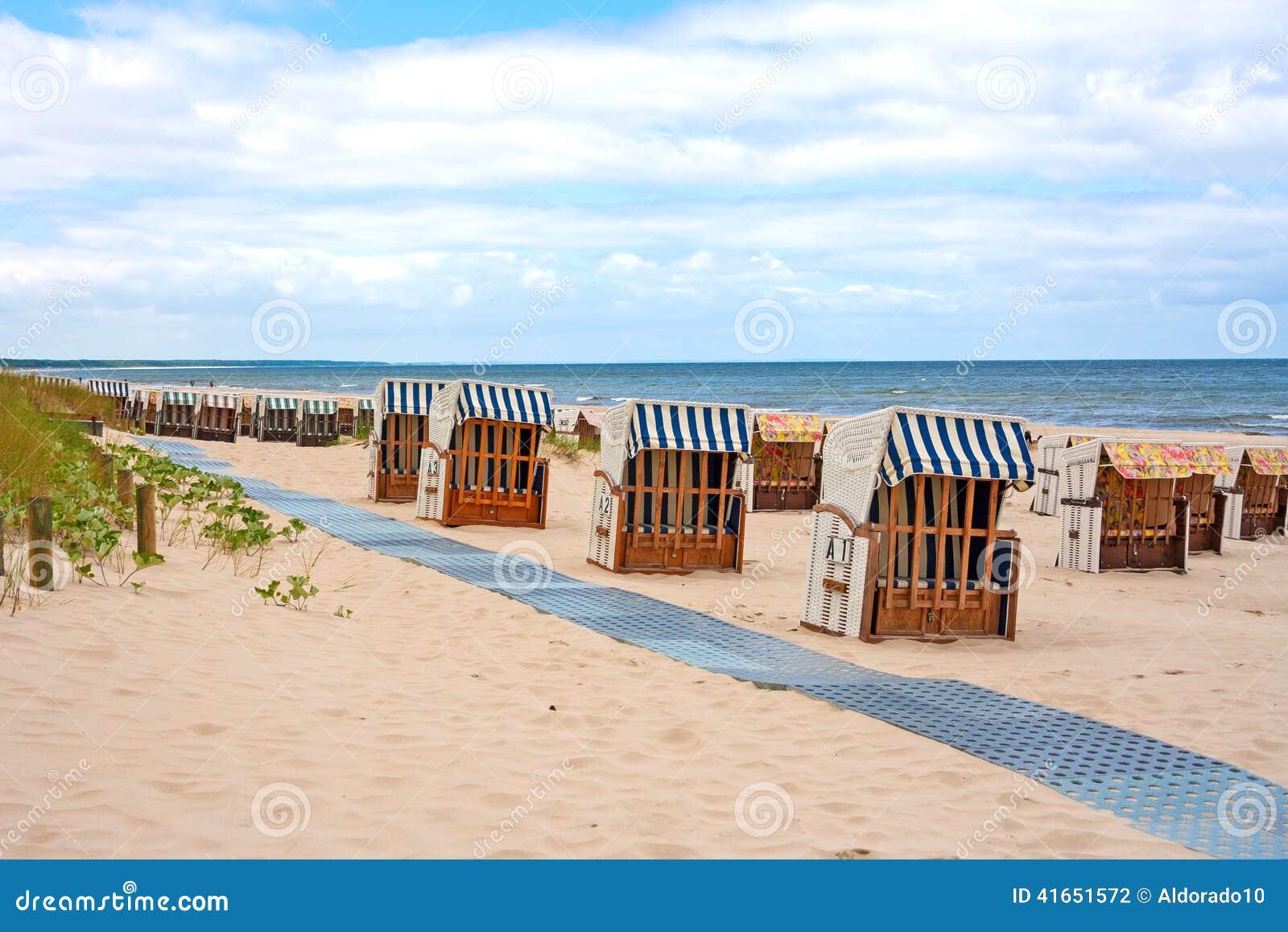 Шезлонги, Балтийское море