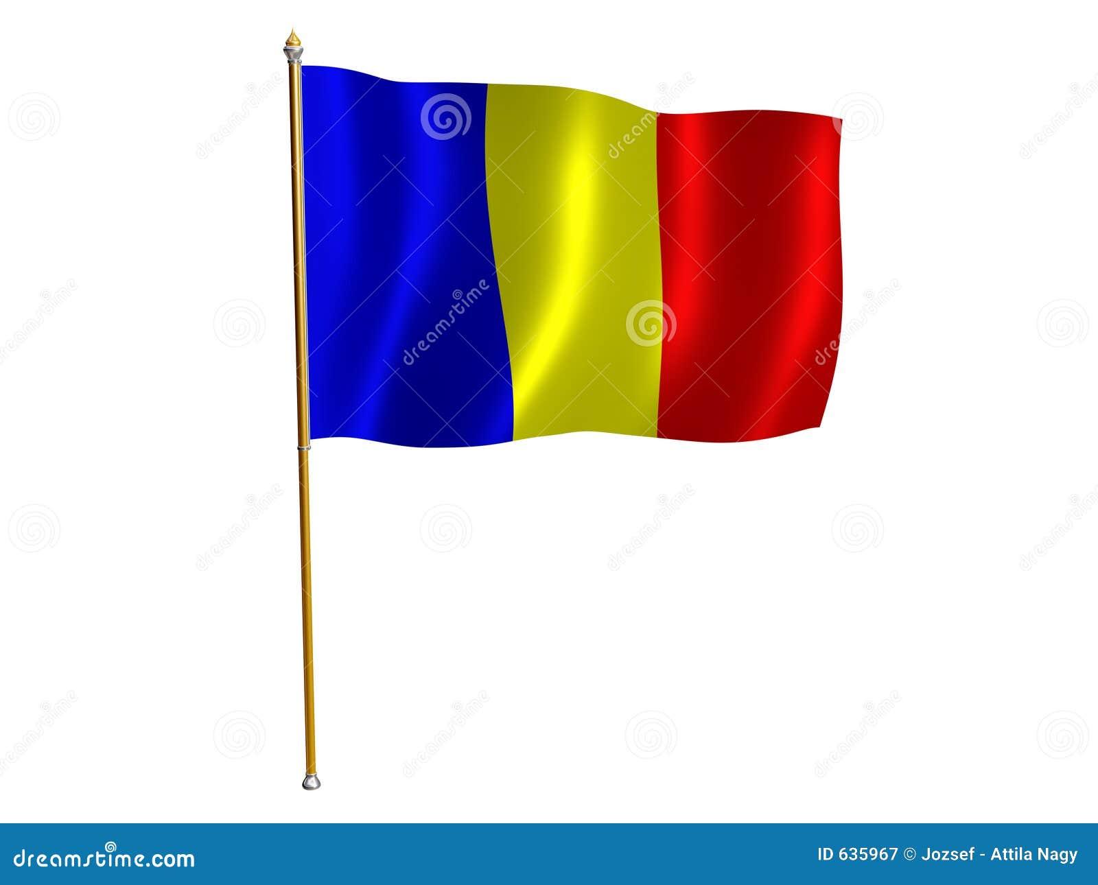 Download шелк флага chad иллюстрация штока. иллюстрации насчитывающей этническо - 635967