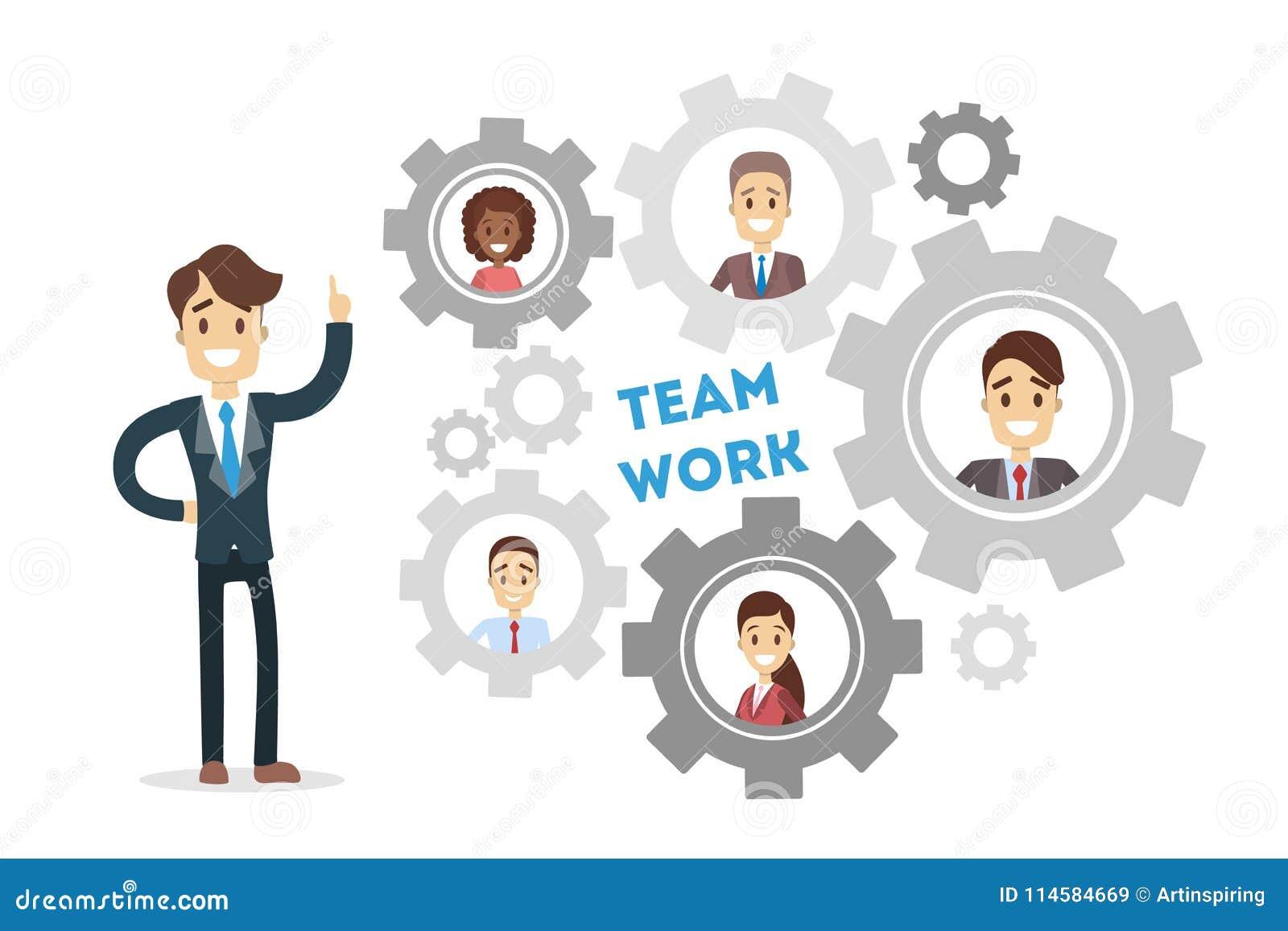 Шестерни работы команды