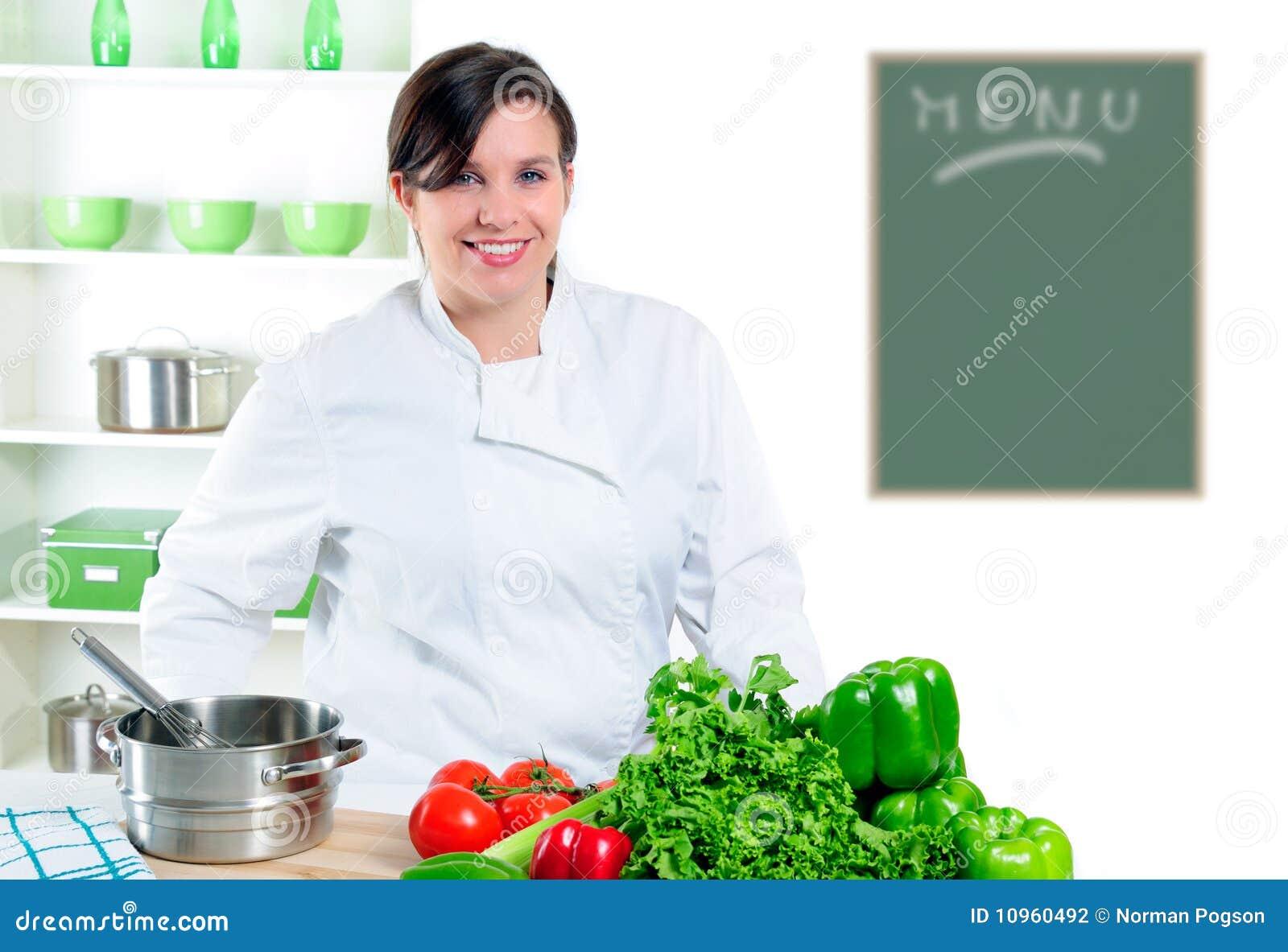 шеф-повар довольно