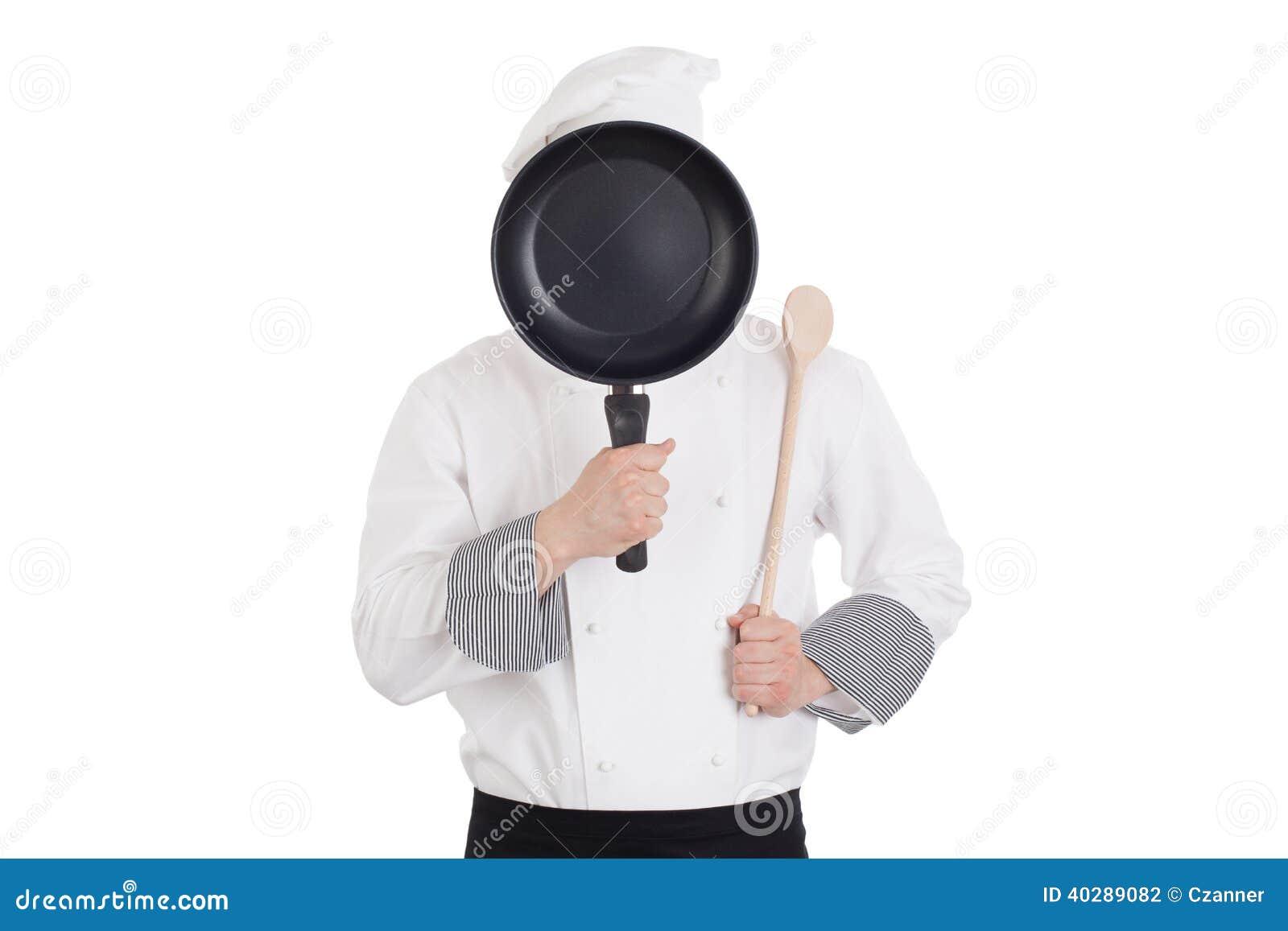 Шеф-повар за лотком