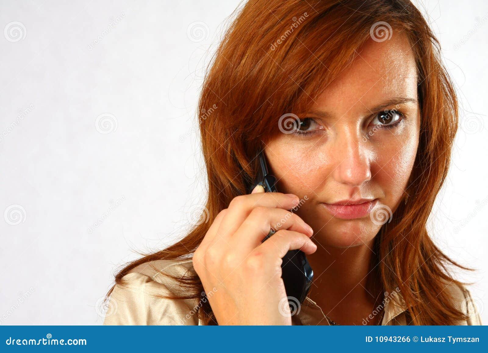 шикарная женщина телефона