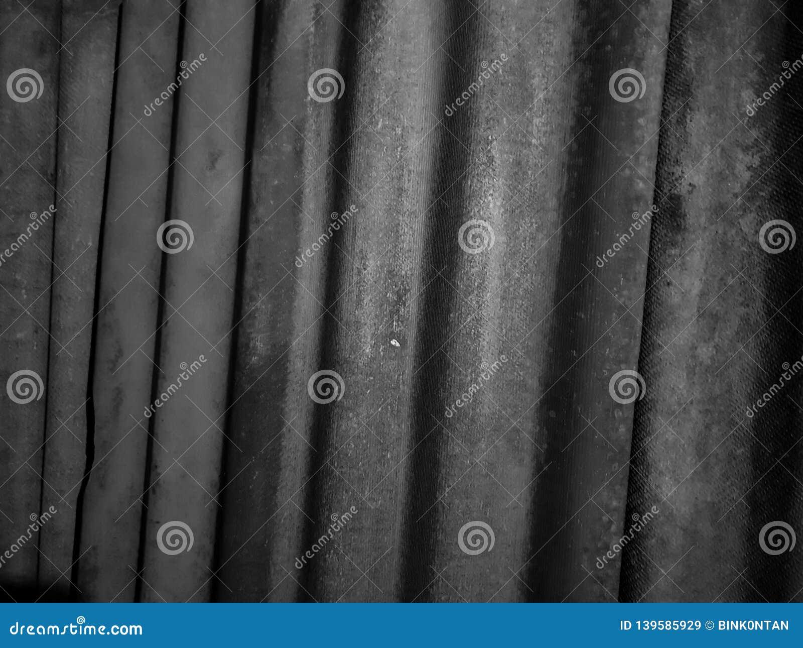Шифер Рифленый конец шифера вверх Материал для крыши