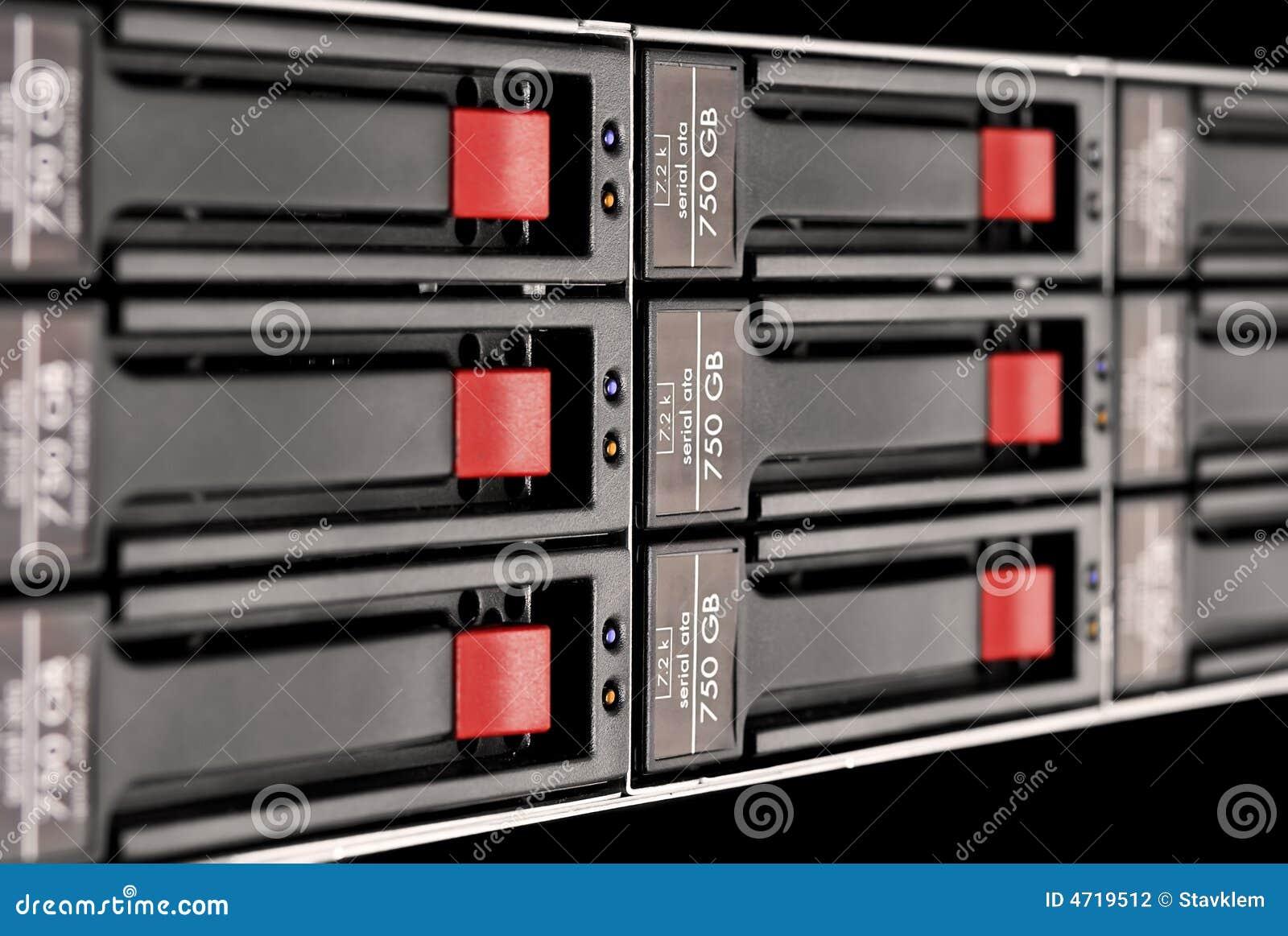 шкаф блока установленный диском