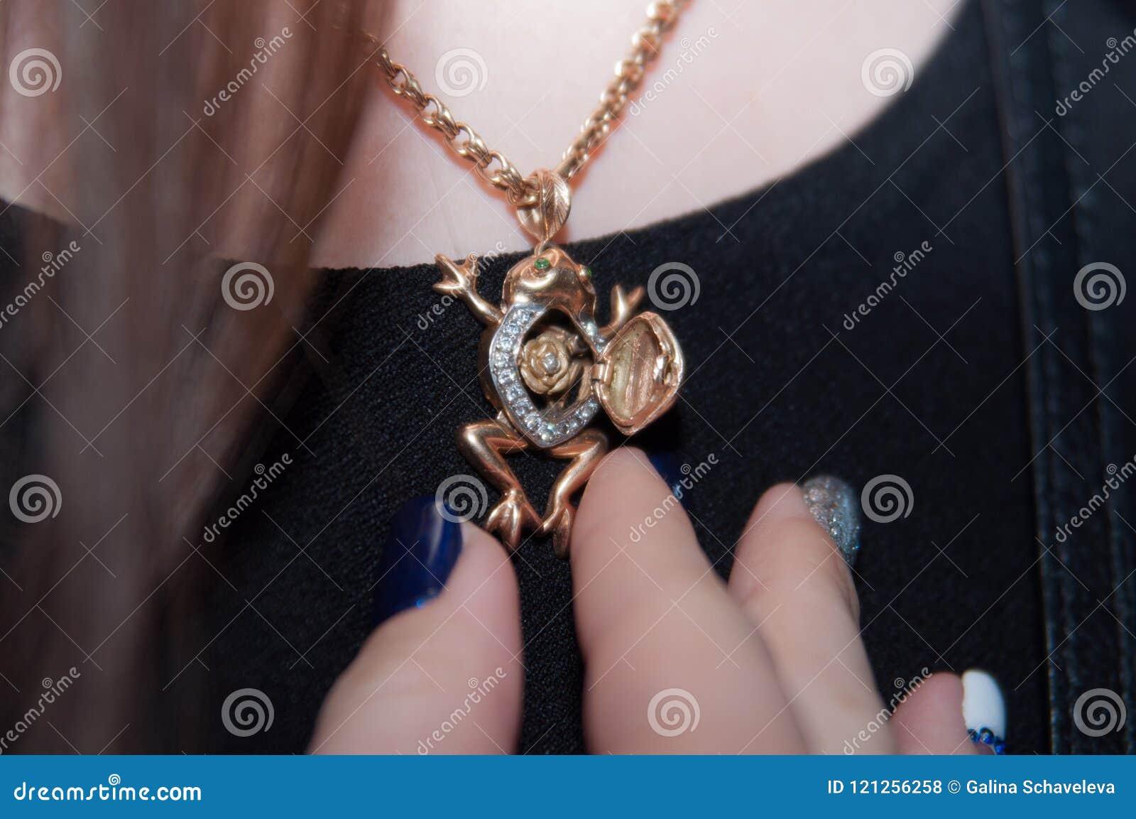 Шкентель в форме лягушки