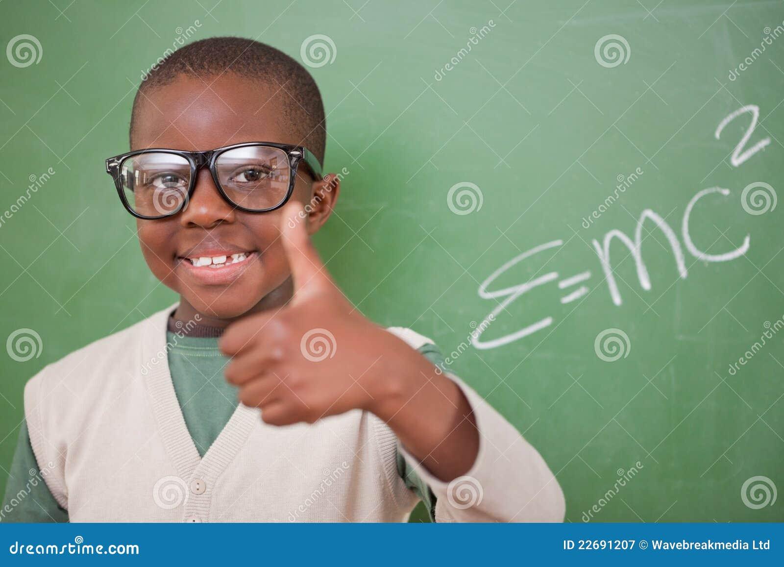 Школьник представляя с массоэнергетической формулой