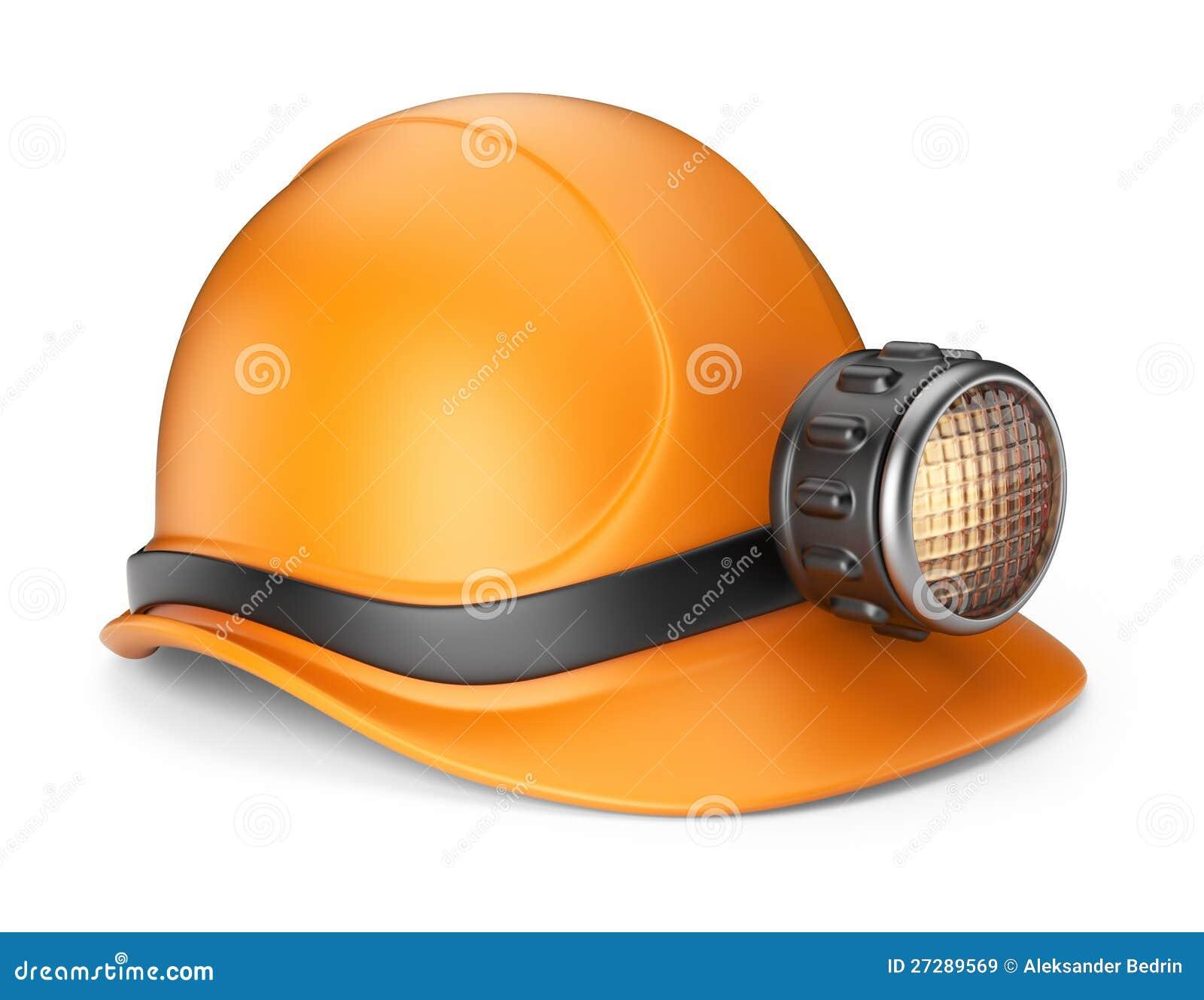 3Д шахтерский шлем с лампочкой - Стоковое фото #13931776.  Google+.
