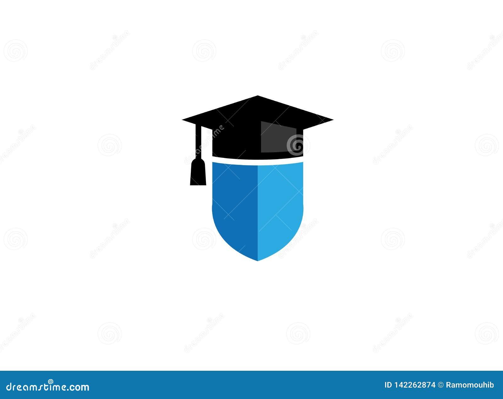 Шляпа градации на экране для логотипа