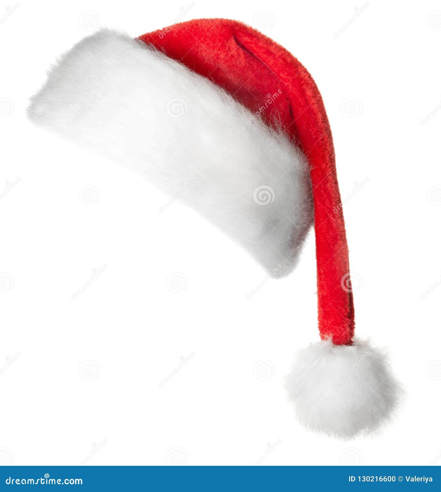 Шляпа красного цвета Санта Клауса