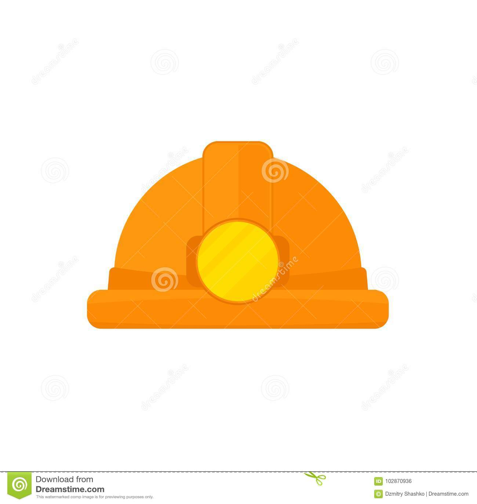 Шляпа шахтера