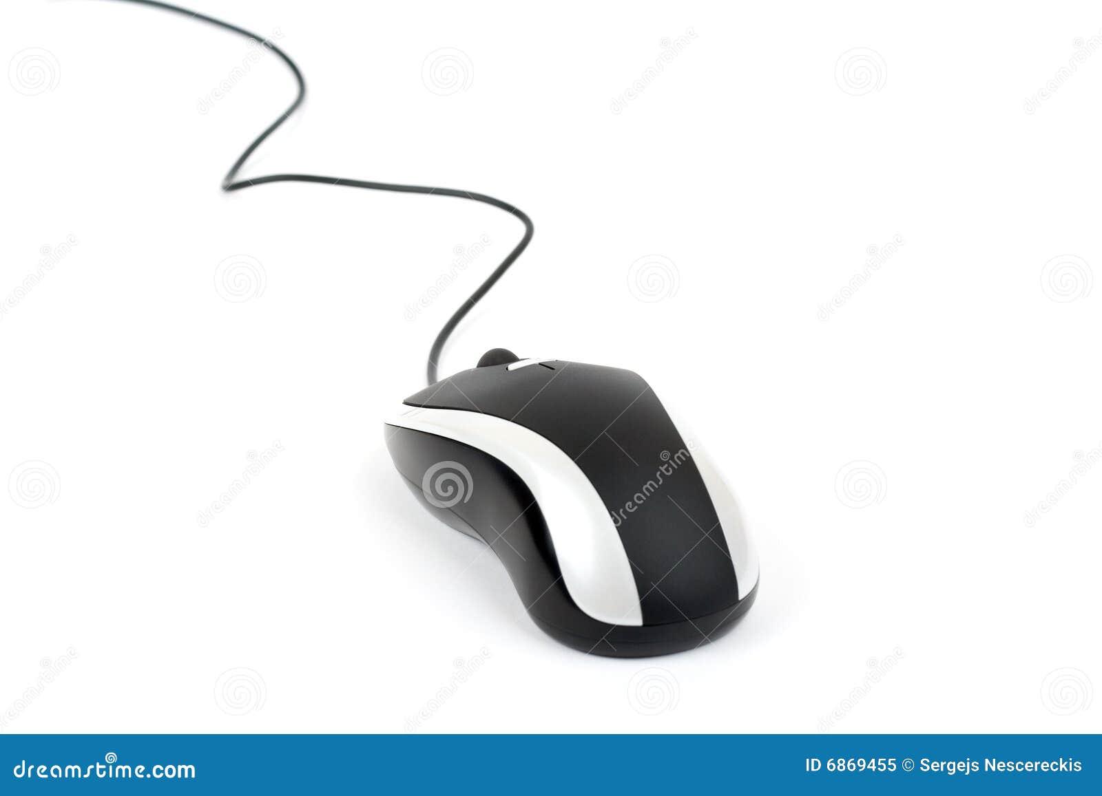 шнур изолировал мышь лазера