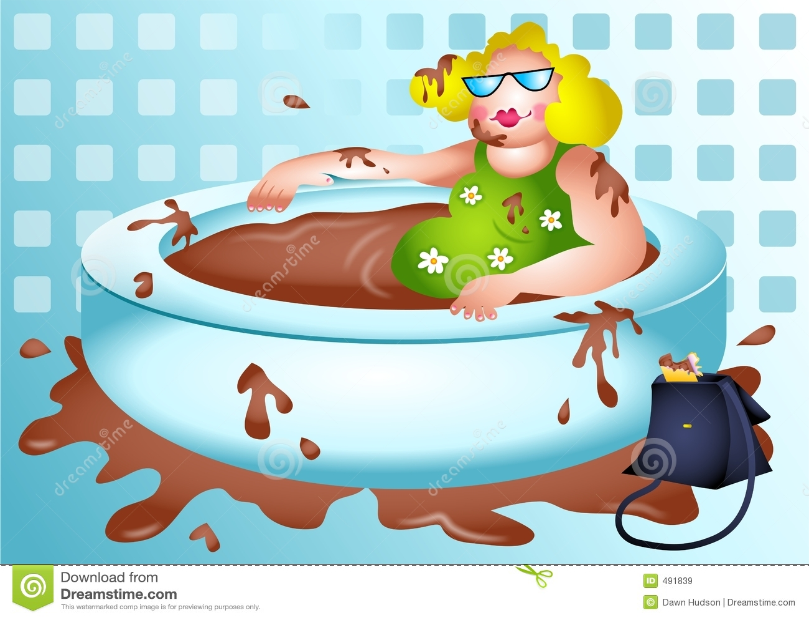 шоколад betty ванны наслаждается